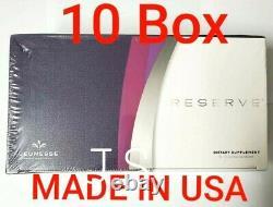 10 Box RESERVE JEUNESSE Resveratrol Antioxidant Blend Sealed Box. MADE IN USA