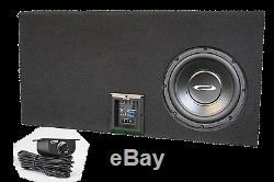 10 Single Loaded Sealed Speaker Box fits Ford F150 Super Crew Cab, MADE IN USA