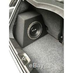 10 Single Loaded and Amplified Sealed Speaker Box For FIAT 500, MADE IN USA
