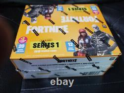 2019 Panini Fortnite Series 1 Fat Pack Box Made in USA Sealed Panini PlasticWrap