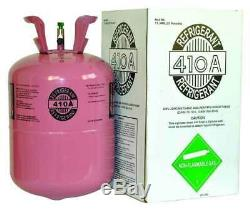 (2) R410a, R410a Refrigerant 25lb tank. New Factory Sealed (Made in USA)