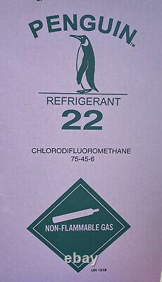 30 lb R22 Virgin Refrigerant Factory Sealed and Made in USA DELIVERED