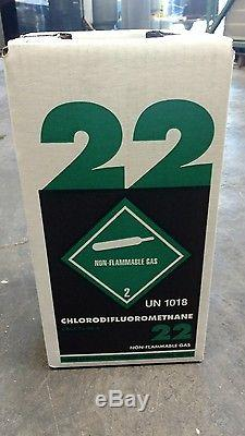 30 lb. R-22 NEW factory sealed Virgin MADE IN THE USA Same Day shipping by 3pm