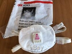 3M 8293 NIOSH P100 Particulate Respi, NEW & SEALED! Made In USA -lots Availa