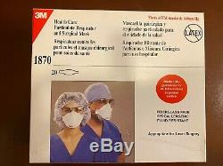 3M N95 1870 Respirator/Masks, 1 box of 20 pcs, New and Sealed, Made in USA
