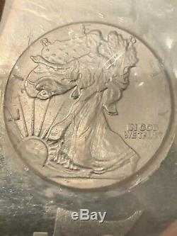 5 Troy Oz Silver Bullion Bar Lady Liberty HM MADE IN USA. 999 Fine Silver Sealed