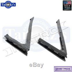 65-69 Corvair Front Vent Window Weatherstrip Seal Pair Metro USA MADE WR2006