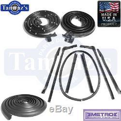65 GM B Body Convertible Weatherstrip Seal Kit 10 Pcs Metro USA Made