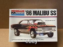 66 Chevelle Malibu SS 427 Vintage USA Made Monogram Factory Sealed Kit