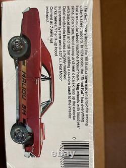 66 Chevelle Malibu SS Street Rat Vintage USA Made Monogram Factory Sealed Kit