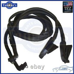 69-77 Corvette Door Weatherstrip Seal Coupe SoffSeal 8312 USA MADE New