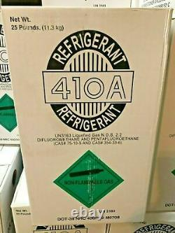 (6) R410a, R410a Refrigerant 25lb tank. New Factory Sealed (Made in USA)