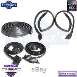 73-77 GM A Body Weatherstrip Seal Kit Door Roof Trunk 5 Pieces USA MADE Metro