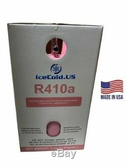 (8) R410a, R410a Refrigerant 11lb Tank. New Factory Sealed (Made in USA)