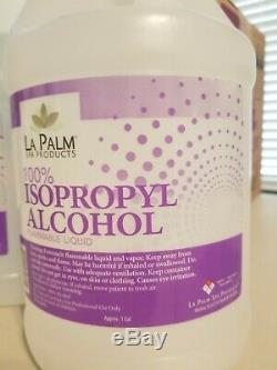 99% Isopropyl Alcohol Famous brand La PALM 04 gallons sealed USA Made