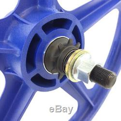 9 Tooth Cassette Skyway 20 TUFF WHEELS II BMX sealed Mags BLUE Made in USA