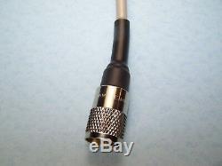 AMPHENOL RG-8X COAX CABLE JUMPER 6 FOOT SEALED PL-259s USA MADE CB HAM RADIO