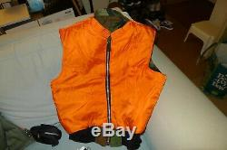 Alpha MA-1 Vest Made in USA still sealed in the bag Camouflage size Large