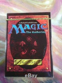 Alternate 4th Edition Starter Deck Rare MTG 1995 New Sealed Made in the USA