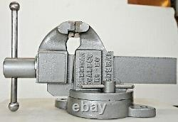 American Scale Co. Red Seal Vise No. 62C 3 1/2 Jaws Made in Kansas City, USA