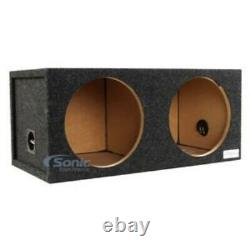 Atrend 12DQ 12 Dual Sealed Subwoofer/Speaker Enclosure Made in USA