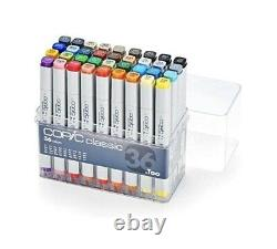 Authentic Too Copic Classic 36 Marker Set NewithSealed Set Made In Japan USA Ship