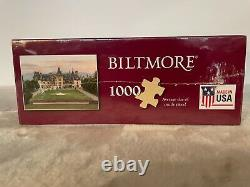 BILTMORE Estate Puzzle 1000 Pieces Made In USA Sealed New