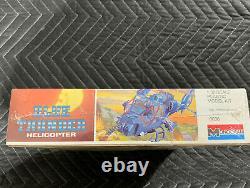 Blue Thunder Police Helicopter 1984 Vintage Sealed USA Made Kit