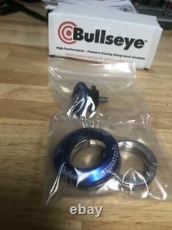 Bullseye BMX Integrated Headset Blue Sealed 1-1/8 American Made USA