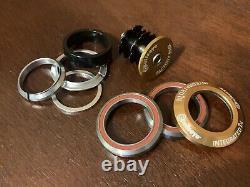 Bullseye BMX Integrated Headset Gold Sealed 1-1/8 American Made USA