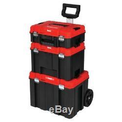 CRAFTSMAN VERSASTACK System 21 Inch Wheeled Water Sealed Tool Box MADE IN USA