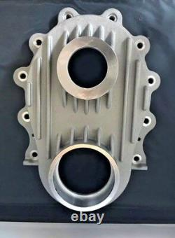 Chrysler 331 354 392 Hemi NEW Timing cover w Crank Seal made in USA Satin