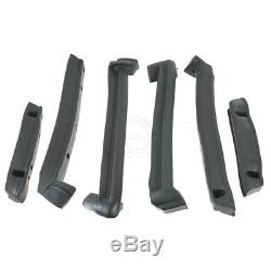 Convertible Top Roofrail Weatherstrip Seals Set Made in USA for 86-96 Corvette