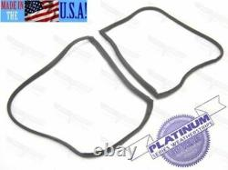Corvette Coupe NEW T-Top Weatherstrip Pair SUPERSoft Rubber 1969-E1977 USA Made