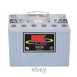 Deka MK 8G31 Battery, Sealed GEL Cell, 12V 97.6AH Group 31 Batter, Made in USA