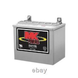 Deka MK 8GU1 Battery, Sealed GEL Cell 12V 31.6AH U1 Battery Made in USA