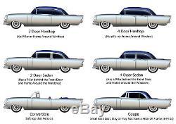 Door Rubber Weatherstrip Seal Pr 1953-54 Chevy/Pontiac All Car USA Made