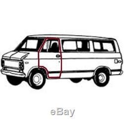 Door Rubber Weatherstrip Seal Pr 1978-96 Chevrolet Van USA Made