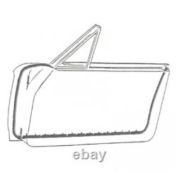 Door Seal Kit Thunderbird Hardtop & Convertible 1964-66 pair USA MADE