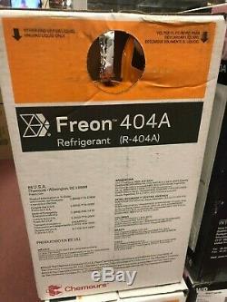 Dupont, Chemours, R404a, R-404a, High Quality USA Made Refrigerant 24 LB, Sealed