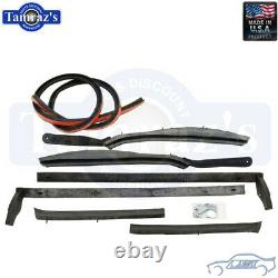 For 62-64 GM B Body Convertible Top Weatherstrip Seals SoffSeal USA MADE