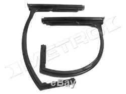 Front Vent Window Seals, Fits1948-1951 Willys Jeepster, Fast Shipping, USA made