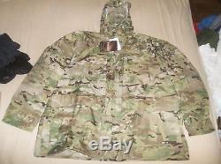 GEN III LEVEL 6 Gore-tex Parka Jacket Coat USA Made MultiCam SEAL Delta USMC XXL