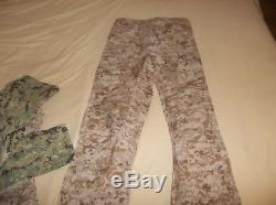 GEN II LEVEL 6 L6 Gore-tex 3 Ply Pants USA Made AOR1 SEAL NSW Small L NICE NEW