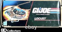 GI Joe LOCUST COPTER Vintage 1990 NEW in SEALED BOX Made in USA