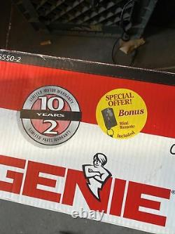 Genie Screw Drive 1/2 HP Garage Door Opener Model IS550-2 Made in USA (Sealed)