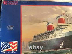 Glencoe Models 1/400 Scale S. S. United States 09301 Made In USA Bags Sealed