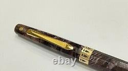 Gorgeous Wahl Doric Pencil, Gold Seal, Amethyst Shell, Works Fine, Made In USA
