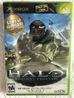 Halo Combat Evolved Game of the Year Edition Factory Sealed Xbox Mint USA made