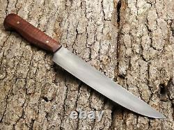 Hand Made 8 Chefs Utility Knife By Mark Mccoun USA Sealed Tiger Maple